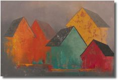 """Newbury Fine Arts - Michele Dangelo. """"Timeless"""" his colors really glow"""