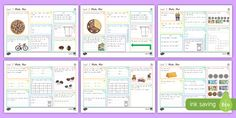 New Zealand Level 2 Maths Activity Mats Year 2 Maths Worksheets, Math Resources, Hands On Activities, Math Activities, Key Stage 3, Activity Mat, Classroom Displays, Good Company, Fun Games