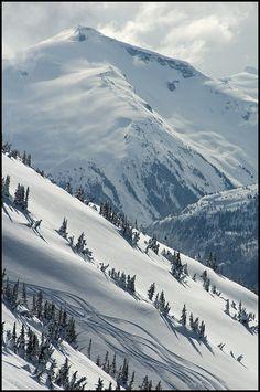 April Skiing on Whistler Mountain by millardog, via Flickr #whistler
