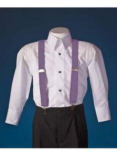 Tuxedo Park - - Boys Lavender Formal Suspenders