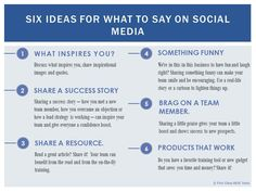 6 Ideas For What To Say on Social Media