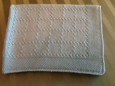 Copertina neonato in lana
