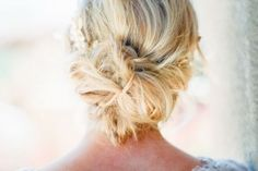 11 Chic Messy Hair Updos