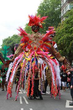Notting Hill Carnival Parade, Notting Hill by photosmr, via Flickr #NottingHillCarnival