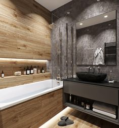 Bathroom Design Luxury, Modern Bathroom Design, Home Interior Design, Modern Vintage Bathroom, Modern Bathroom Decor, Diy Bathroom, Bathroom Design Inspiration, Loft Interiors, Loft Design
