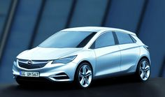 Opel Astra - scale model