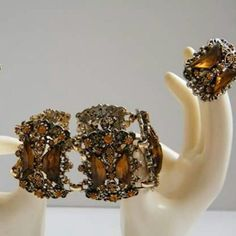 Vintage demi parure jewelry sets arrived today! Check them out at TwoVintageLadies!