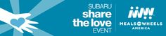Join us in the #ShareTheLove event! For every Subaru sold or leased in 2015, Subaru will donate $250 to charity!