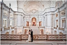 San Francsico City Hall Wedding photography by Elle Jae.