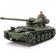 French AMX13 Tank Plastic Model Kit, 1/35 Scale