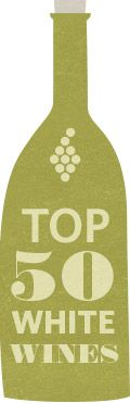 The top rated white wines of 2015, as rated by Vivino users.