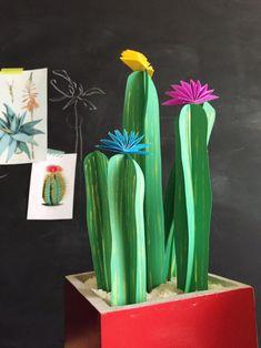 DIY Paper Plants // Paper Cactus by The House That Lars Built