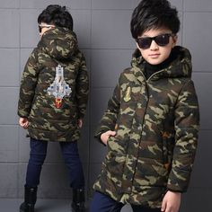 34.20$  Buy now - https://alitems.com/g/1e8d114494b01f4c715516525dc3e8/?i=5&ulp=https%3A%2F%2Fwww.aliexpress.com%2Fitem%2FBoys-winter-jackets-and-coats-outerwear-boys-Camouflage-outerwear-thicken-rocket-children-jackets-for-boys-jackets%2F32744036066.html - Boys winter jackets and coats outerwear boys Camouflage outerwear thicken rocket children jackets for boys jackets kids clothes 34.20$