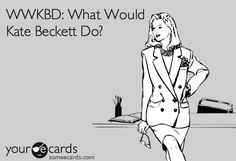 WWKBD? I'm constantly asking myself this question