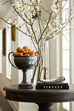 charming entry table.