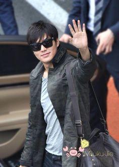 Lee Min Ho at Pudong International Airport ✈️140910