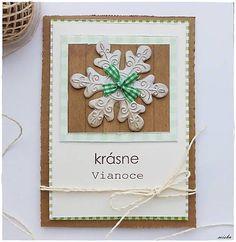 misha_cards / *Natur Vianoce - vločka*