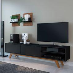 Tv Unit Furniture, Home Decor Furniture, Furniture Design, Tv Rack Design, Yellow Dining Room, Tv Stand Decor, Tv Unit Decor, Living Room Tv Unit Designs, Living Room Decor