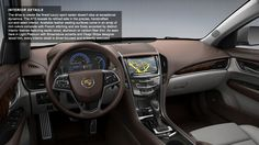2013 Cadillac ATS Performance Interior