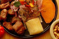 Prepararación Chicharron de chancho ~ mis recetas peruanas
