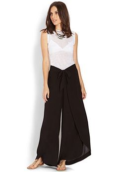 Draped Tulip Pants | FOREVER21 - 2000088746