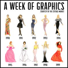 1990's Fashion Graphics Package for you