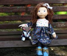 lalka waldorfska, lalka inspirowana lalką waldorfska, waldorf doll, doll inspired waldorf doll