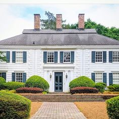 """Dandridge Sterne on Instagram: """"Who needs a resort when there are houses like this in Pinehurst? Makes me want to break out in shingles … Photo by @bungalowblue…"""" Bungalow, Mansions, Architecture, House Styles, Maine, Houses, Instagram, Home Decor, Stars"""