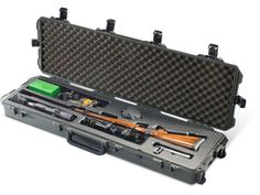 Product detail of Pelican Storm iM3300RFL Scoped Rifle Case with Molded Insert and Whee...
