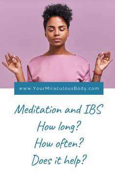 Is anxiety and stress a trigger for your IBS flare ups? Meditation could be the missing piece that you need for your IBS treatment. Learn about how meditation reduces abdominal pain and frequency of pain, reduces anxiety and improves your quality of life… all without side effects. #IBS #naturaltreatment #relief #flareup #cure #remedies #anxiety #symptoms Natural Treatments, Daily Meditation, Meditation Practices, Anxiety Relief, Stress Relief, Ibs Flare Up, Ibs Symptoms, Ibs Diet
