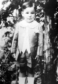 Young Fidel Castro ca 1929