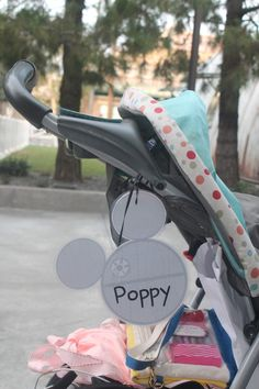Printable Star Wars Stroller Tag for Disneyland and Stroller Tips for Disneyland | Clementine County