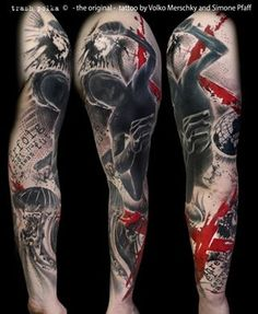 Absolutely love this style of tattoo
