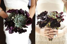Calla-Lily-and-Succulent-Bouquets