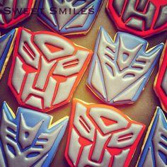 Autobot | Decepticon | Transformers Cookies