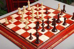 "The Capablanca Series Luxury Chess Set - 4.0"" King"