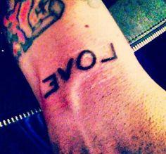 Billie's new tattoo!!