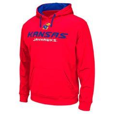 Men's Stadium Kansas Jayhawks College Pullover Hoodie - PLYP6KAN TC2 | Finish Line