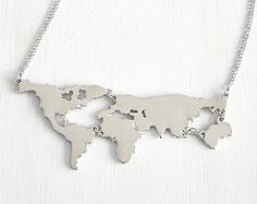Globe necklace world necklace travel necklace earth necklace jewelry globe necklace world necklace travel necklace earth necklace jewelry globe charm necklace long distance relationship gift beep studio etsy gumiabroncs Gallery