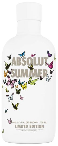Absolut summer, limited edition - Awghh, I want this bottle!!!