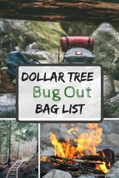 Dollar Tree bug out bag list. Prepping can be expensive. Quality is important but something is better than nothing. survival tips Survival Supplies, Survival Food, Homestead Survival, Wilderness Survival, Outdoor Survival, Survival Prepping, Survival Skills, Survival Hacks, Emergency Supplies
