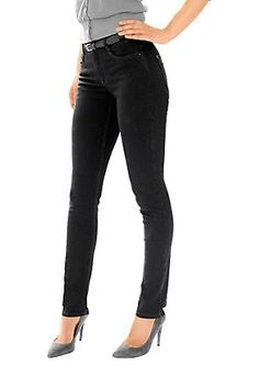 f039565481fd Jeans, ascari. Perfekt zur aktuellen Mode! Jeans in schmaler Röhrenform.  Sitz super