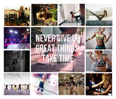 """Never give up"" by heartandsoul ❤ liked on Polyvore featuring art, sporty, expression, girl and artexpression"