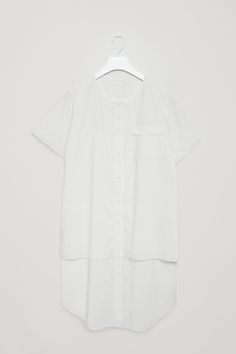 COS | Celebrating 10 years | Cotton poplin shirt dress