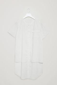 COS | Celebrating 10 years | Cotton poplin shirt dress