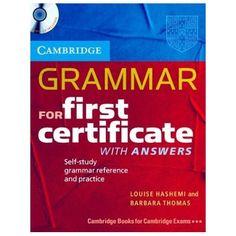 Libro de ejercicios en inglés nivel first certificate