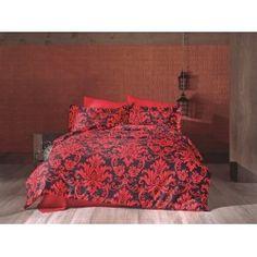 Una dintre cele mai de lux  este gama Satin Bumbac , cunoscuta si ca Satin Deluxe. Lenjeriile din aceasta gama ofera un confort exceptional datorita materialului de inalta calitate si foarte fin la atingere. De asemenea, tesatura este foarte rezistenta atat la rupere cat si la decolorare, imprimeul fiind realizat cu o tehnologie de ultima generatie. Comforters, Satin, Blanket, Bed, Furniture, Home Decor, Creature Comforts, Quilts, Decoration Home