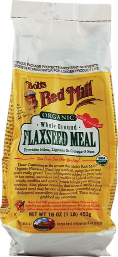Bob's Red Mill Whole Ground Flaxseed Meal Organic #setandsave