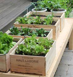 caisse-en-bois-déco-jardinière-carré-potager-surélever-jardiniere-palette
