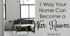 What if I told you that your whole home could be a war room, in one easy step? What if there was a way that you could carry your war room with you?
